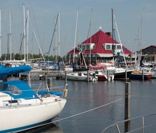 Restaurant Havenrijk bij jachthaven Zwaansmeerpolder